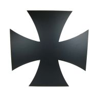 Metal Iron cross logo