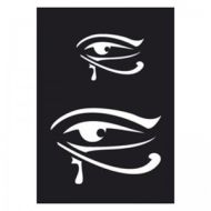 Selvklæbende Tattoo stencil. Egyptian Eye