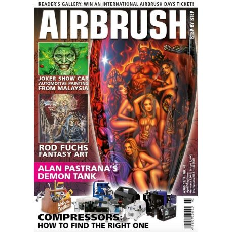 Airbrush Step by step nr.43