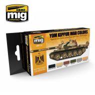 AMIG7113 Yom Kippur War Colors sæt 6 x 17 ml.
