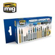 AMIG7129 Modern Ammunition sæt 6 x 17 ml.