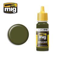 AMIG019 4BO Russian Green 17ml.
