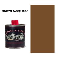 033 Mr. Brush Brown Deep 125ml.