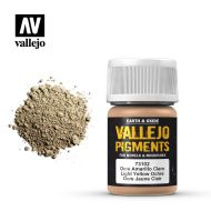 73.102 Vallejo Pigment Light Yellow Ochre 35ml.