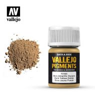 73.103 Vallejo Pigment Dark Yellow Ochre 35ml.