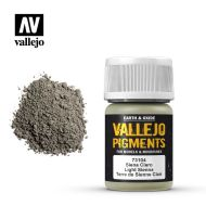 73.104 Vallejo Pigment Light Sienna 35ml.