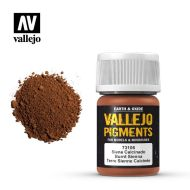73.106 Vallejo Pigment Burnt Sienna 35ml.
