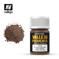 73.110 Vallejo Pigment Burnt Umber 35ml.