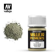 73.111 Vallejo Pigment Green Earth 35ml.