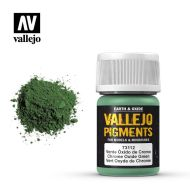 73.112 Vallejo Pigment Chrome Oxide Green 35ml.