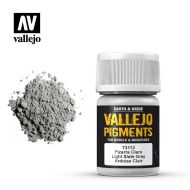 73.113 Vallejo Pigment Light Slate Grey 35ml.