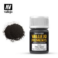 73.116 Vallejo Pigment Carbon Black (Smoke Black) 35ml.
