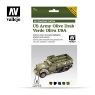 71.402 AFV US Army Olive Drab 6 x 8ml