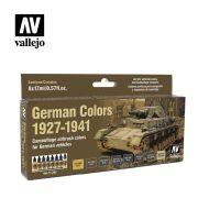 71.205 German Colors 1927-1941 sæt 8 x 17ml