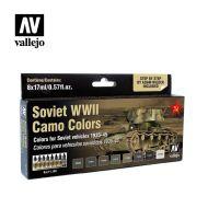 71.188 Soviet WWII Camo Colors sæt 8 x 17ml
