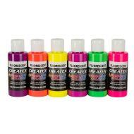 5802 Createx Fluorescent set 6 x 60ml
