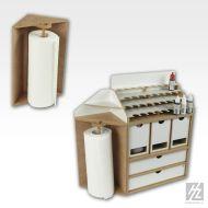 Corner Paper Towel Module