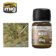 AMIG1000 Brown Wash For German Dark Yellow 35ml.