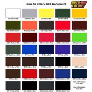 4200 Transparent Color Chart