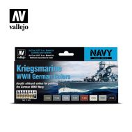 71.615 Kriegsmarine WWII German Colors sæt 8 x 17ml
