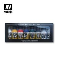 71.174 Basic Colors sæt 8 x 17ml