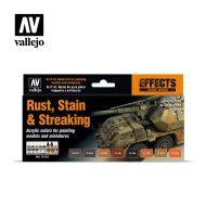 70.183 Rust, Stain & Streaking sæt 8 x 17ml