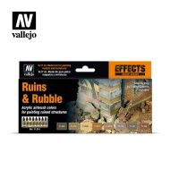 71.214 Ruins & Rubble sæt 8 x 17ml