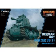 WWT-011 German Light Panzer 38(T) (Cartoon)