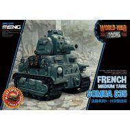 WWT-009 French Medium Tank Somua S-35 (Cartoon)
