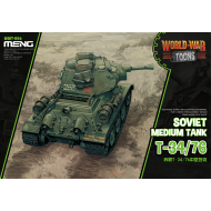 WWT-006 Soviet Medium Tank T-34/76 (Cartoon)