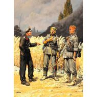 World War II era Series, German Military men (1939-1942) 1:35
