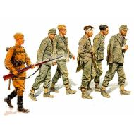 World War II era Series, German Captives 1944 1:35