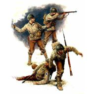 World War II era Series, US. Infantry July 1944 1:35