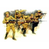 World War II era Series, Soviet Infantry in action (1941-1942) 1:35