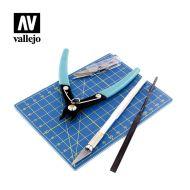 Vallejo Plastic ModelingTool Set T11001