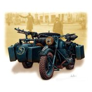 Vehicles Series, German motorcycle, WWII 1:35