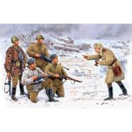 World War II era Series, Russian Infantry. Korsun-Shevchenkovskiy, 1944 1:35