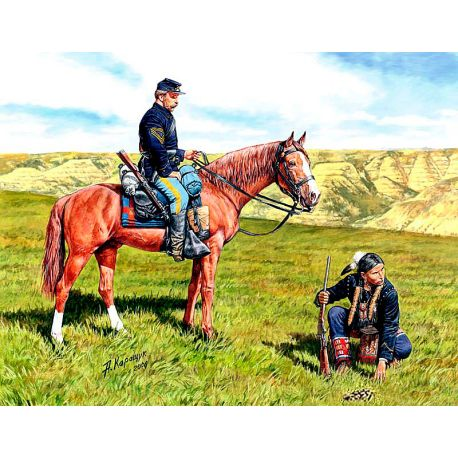 U.S. Civil War Series, Yankee Scout and Tracker 1:35