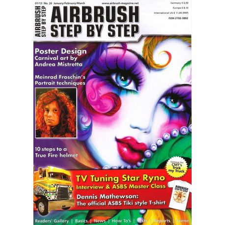 Airbrush Step by step nr.26