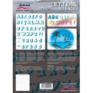 H&S Letter stencil 410124