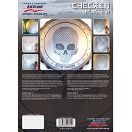 H&S Checker plate no.2 stencil 410149