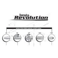 Iwata Revolution reservedelskatalog