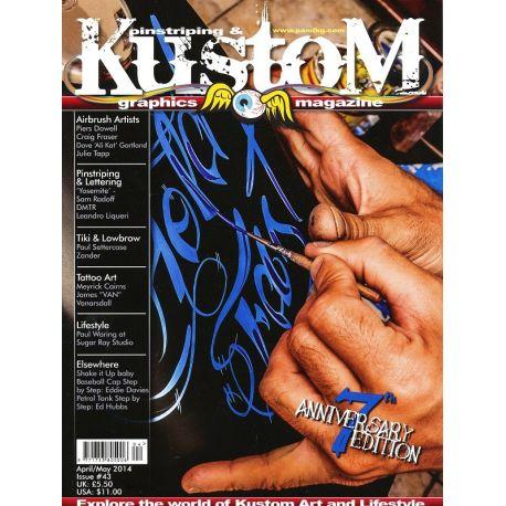 Pinstriping & Kustom Magazine nr.43