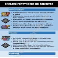 Createx fortyndere og additiver