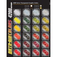 Auto air colors color chart 4200 series