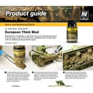 Vallejo Thick mud Step by Step