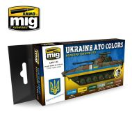 AMIG7125 Ukraine ATO Colors sæt 6 x 17 ml.
