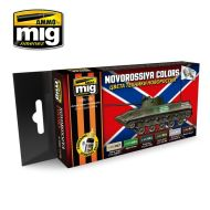 AMIG7126 Novorossiya Colors sæt 6 x 17 ml.