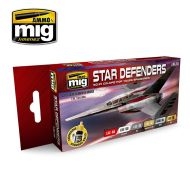 AMIG7130 Star Defenders SCI-FI Colors sæt 6 x 17 ml.
