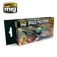 AMIG7131 Space Fighters SCI-FI Colors sæt 6 x 17 ml.
